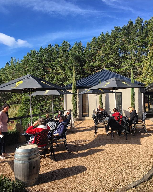 After a cool crisp morning, what better way than to get outside and bask in that afternoon sun @cloud_9_farm #cloud9farm #cloud9 #cellardoor #winery #wine #winetasting #winelover #winestagram #wineandcheese #cheese #cheeselover #visitvictoria #visitmelbourne #seeaustralia #wandervictoria #melbourne #weekend #weekendvibes #daylesfordmacedonranges #landscapephotography #landscape #country #countryside #farmlife #roomwithaview #view #viewsfordays #autumn #cheeseplatter #cheeseplate