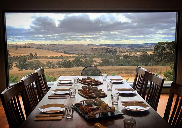Sunday lunch with a view 👌#cloud9farm #cloud9 #cellardoor #winery #wine #winetasting #winelover #winestagram #wineandcheese #cheese #cheeselover #visitvictoria #visitmelbourne #seeaustralia #wandervictoria #melbourne #weekend #weekendvibes #daylesfordmacedonranges #landscapephotography #landscape #country #countryside #farmlife #roomwithaview #view #viewsfordays #autumn #sundayfunday