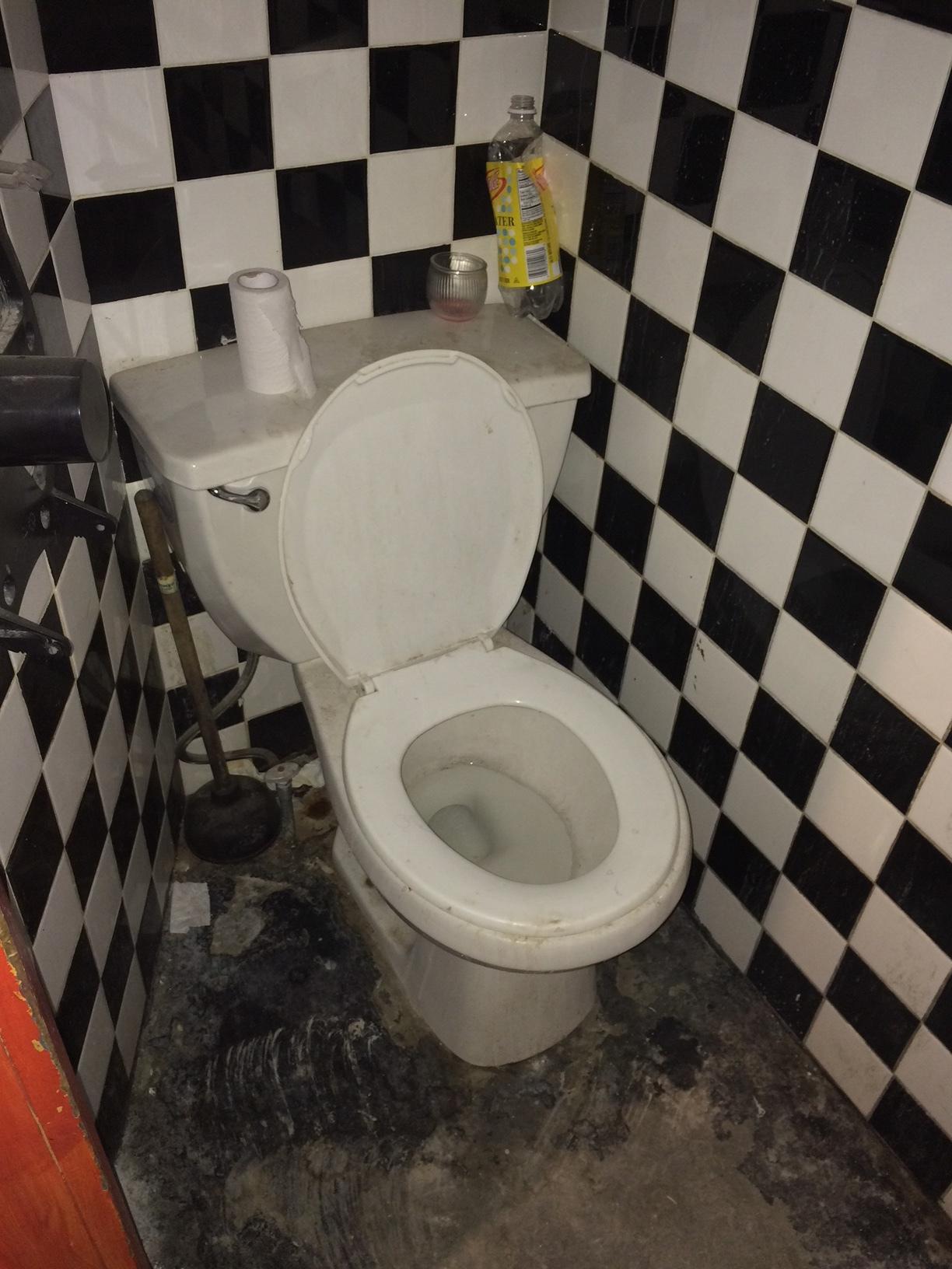 Yes. The previous toilet...
