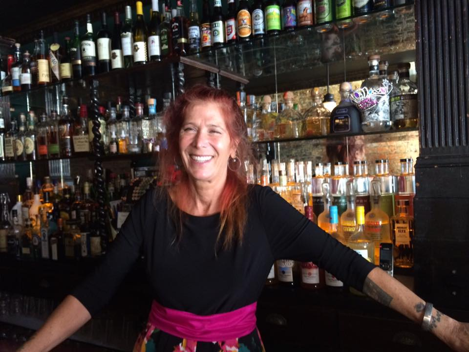 """And finally, me behind the bar on the """"official"""" opening day in September 2016."""