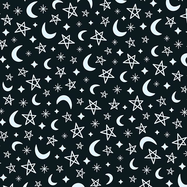 Moon & Stars seamless vector patterns - now available on @creativemarket (link in bio) 💫 🌙✨ #pattern #patterns #repeatpattern #surfacepattern #design #patterndesign #graphic #graphicdesign #graphicdesigner #emecreative #vector #illustration #illustrator #flatdesign #colour #color #digital #digitalillustration #stars #moon #space #mockup #fun #cute #kids