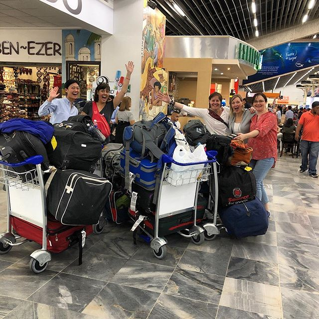 We made it! Back in Honduras for our 2019 trip.