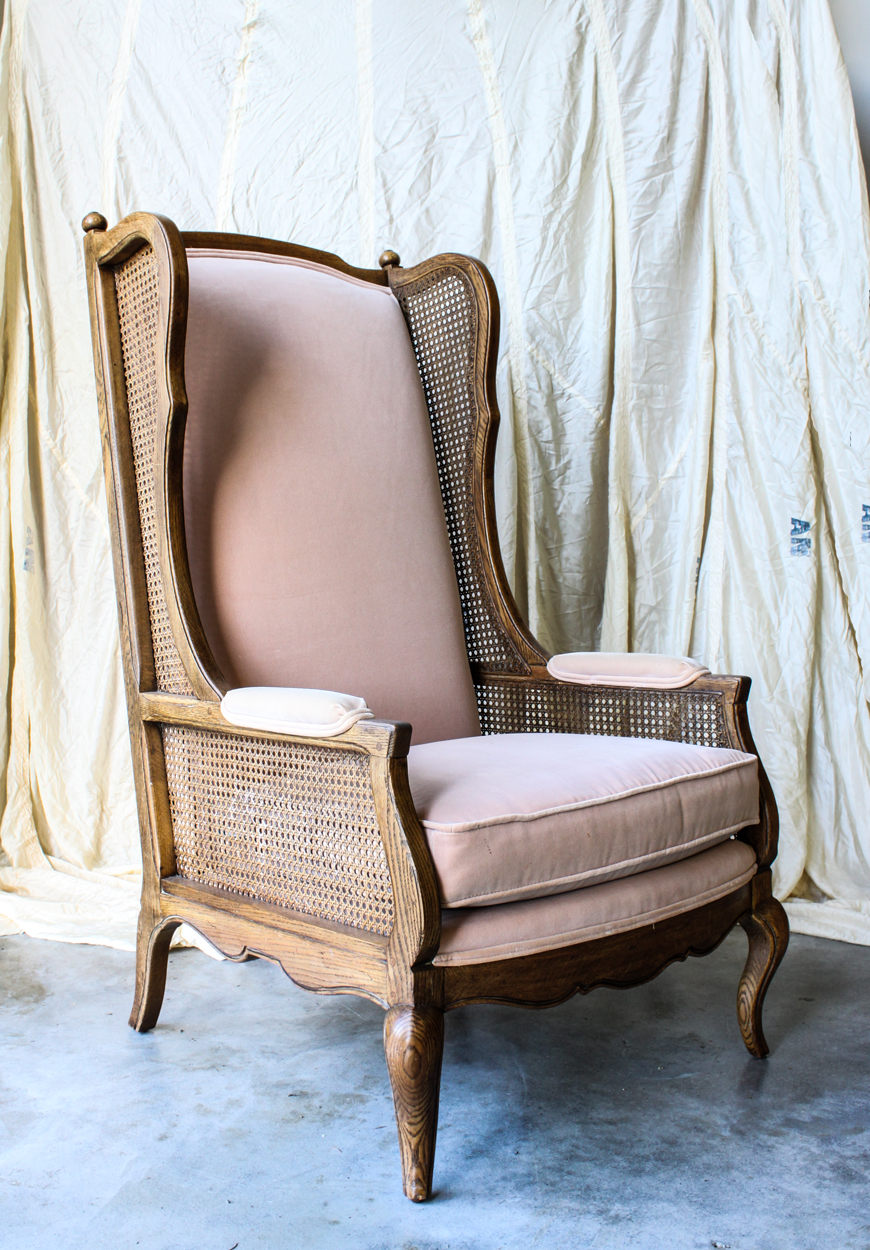Pink winged back chair velvet.jpg