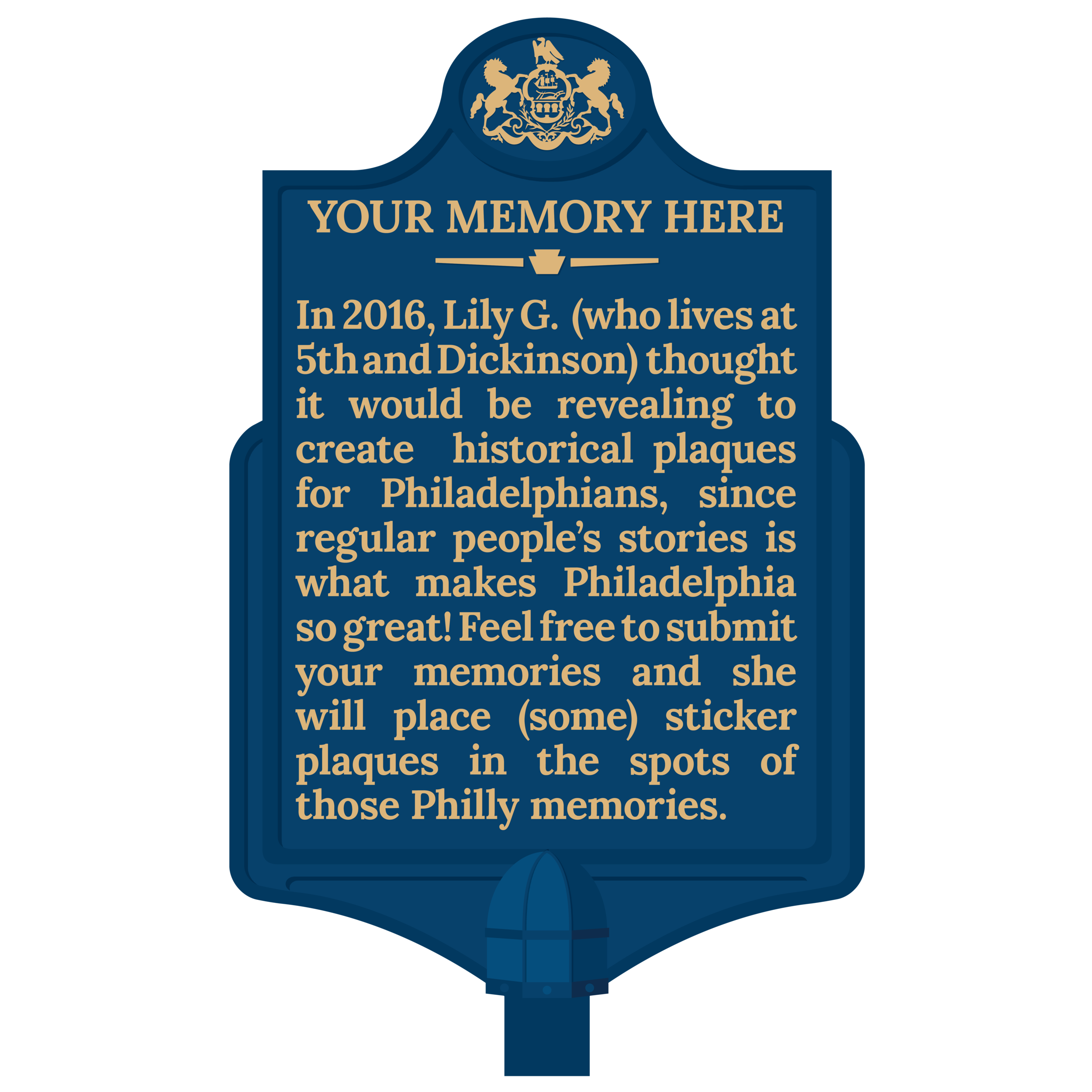 Home Page Plaque