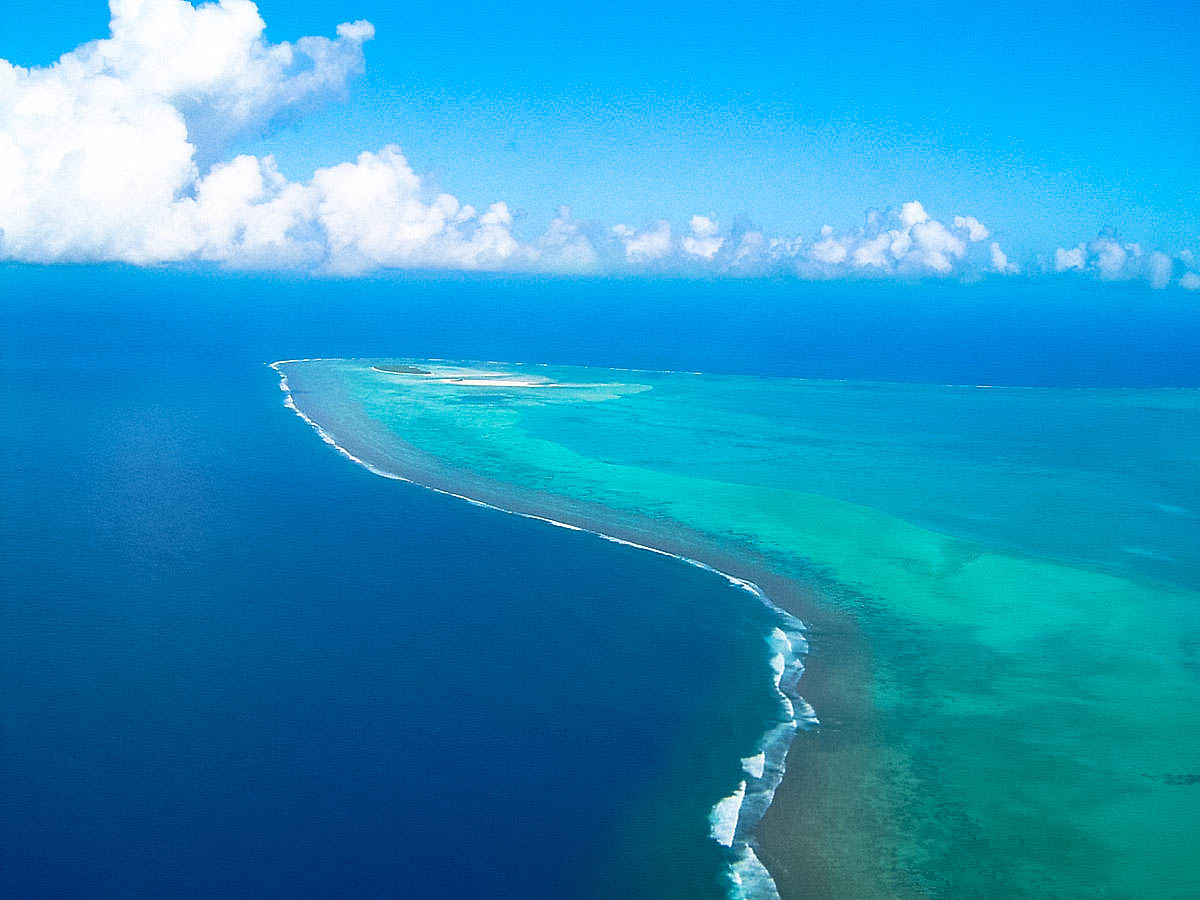 Maina, Cook Islands and the Aitutaki Lagoon