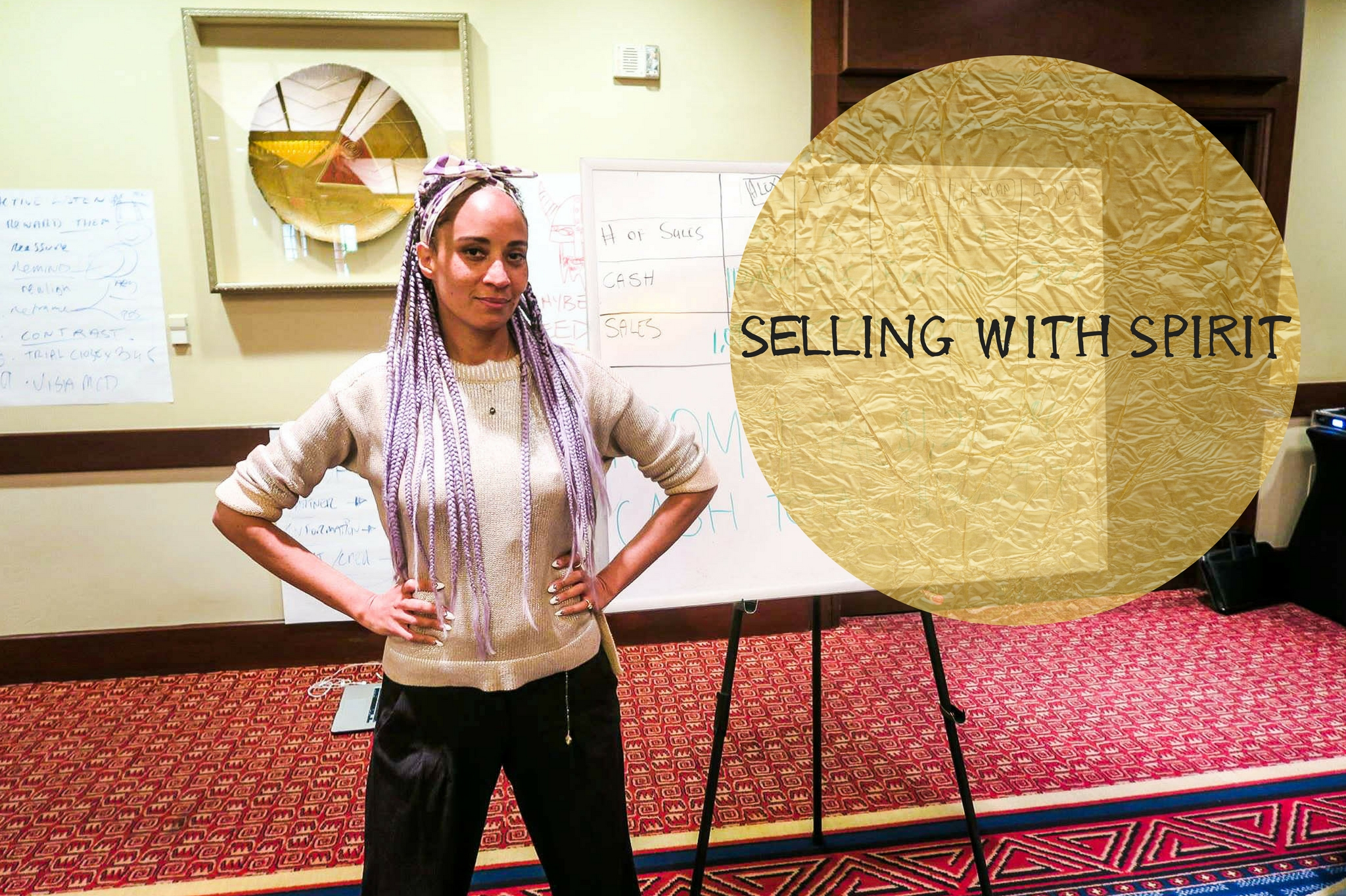 It's time for you to up level… - Selling with Spirit Mastercourse is a group program for Creatives who choose to make a difference in the world while being paid well for their Great Work.This 6 week program teaches spiritual entrepreneurs how to craft a high value offer, sell it with heart, and deliver it well. All while earning a handsome income, raising the quality of their lives - and of those around them.There is an aligned way to craft products and services - and market and sell them - according to your individual energy.Selling with Spirit merges metaphysics and commerce - using several modalities to decide what is best for you in the marketplace. The course helps you discover your unique voice and do what you love while honoring your self respect.
