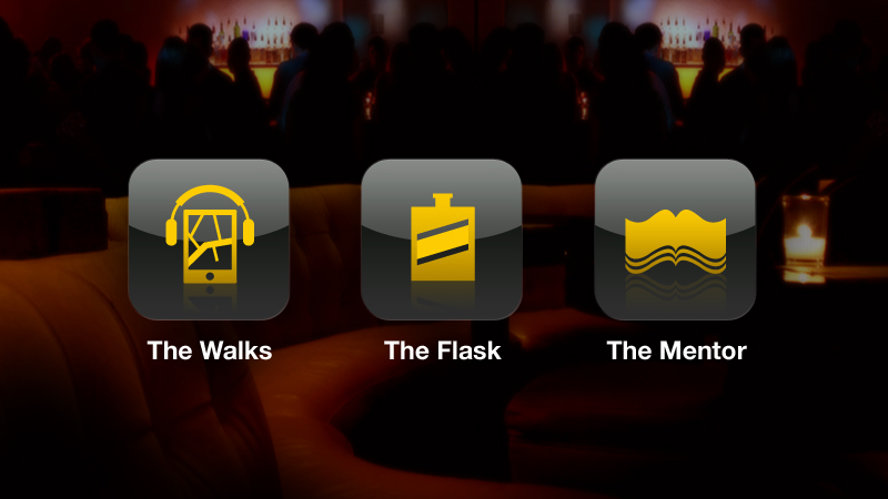 The Walker digital platform for Johnnie Walker by Tom Morhous and AKQA