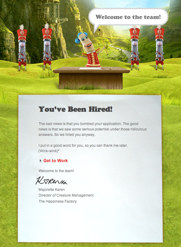 Happiness Factory digital ad campaign for Coca-Cola by Tom Morhous and AKQA