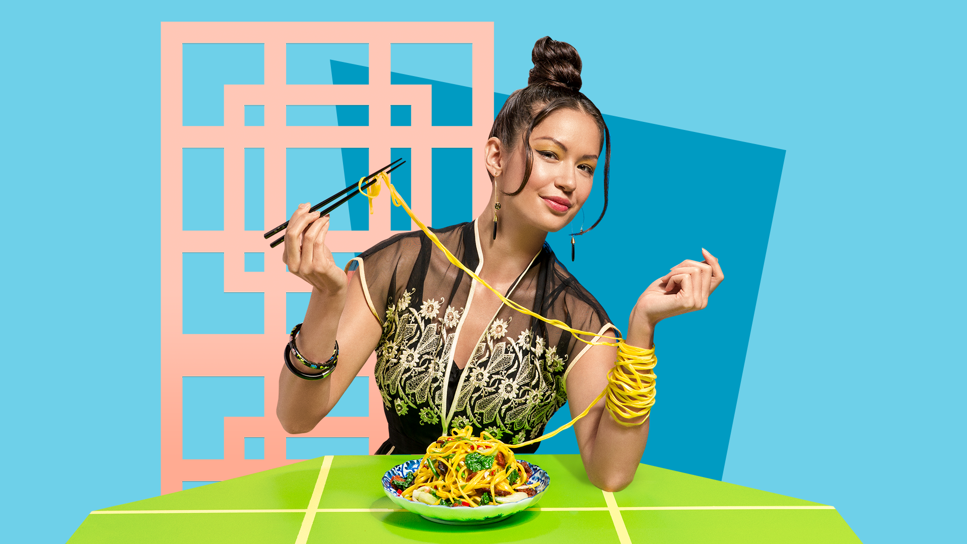 Eat Fabulous! ad campaign for dineL.A. and L.A. Tourism & Convention Board by Tom Morhous and Remo+Oob, Ltd.