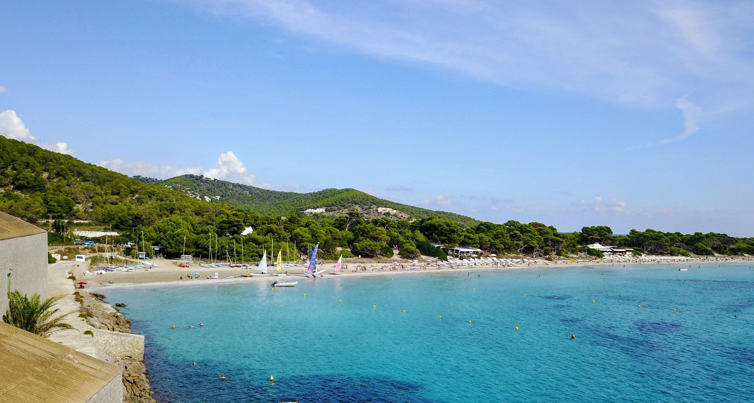 Salinas Beach, Ibiza Spain