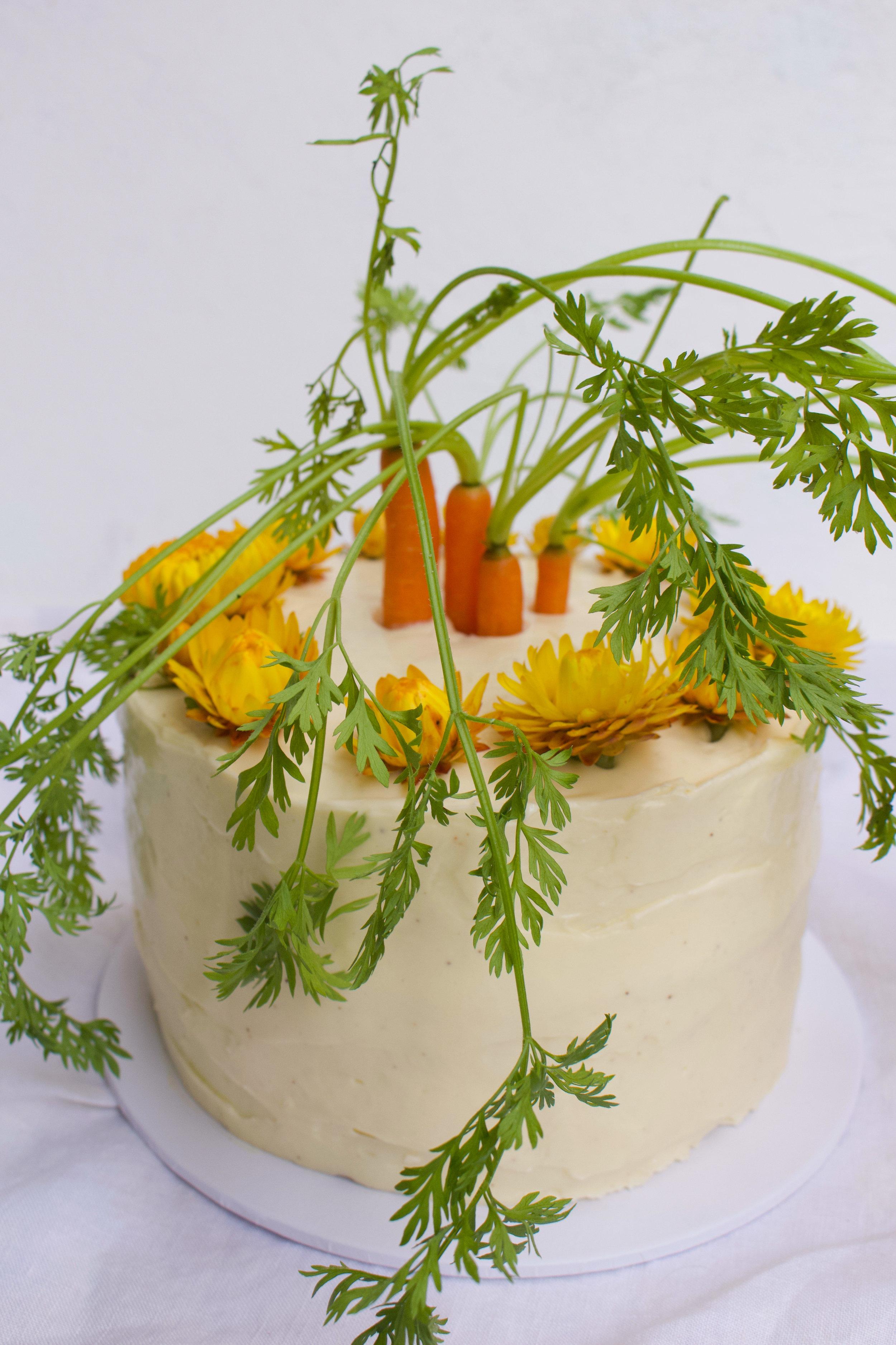 < carrot & cream cheese >