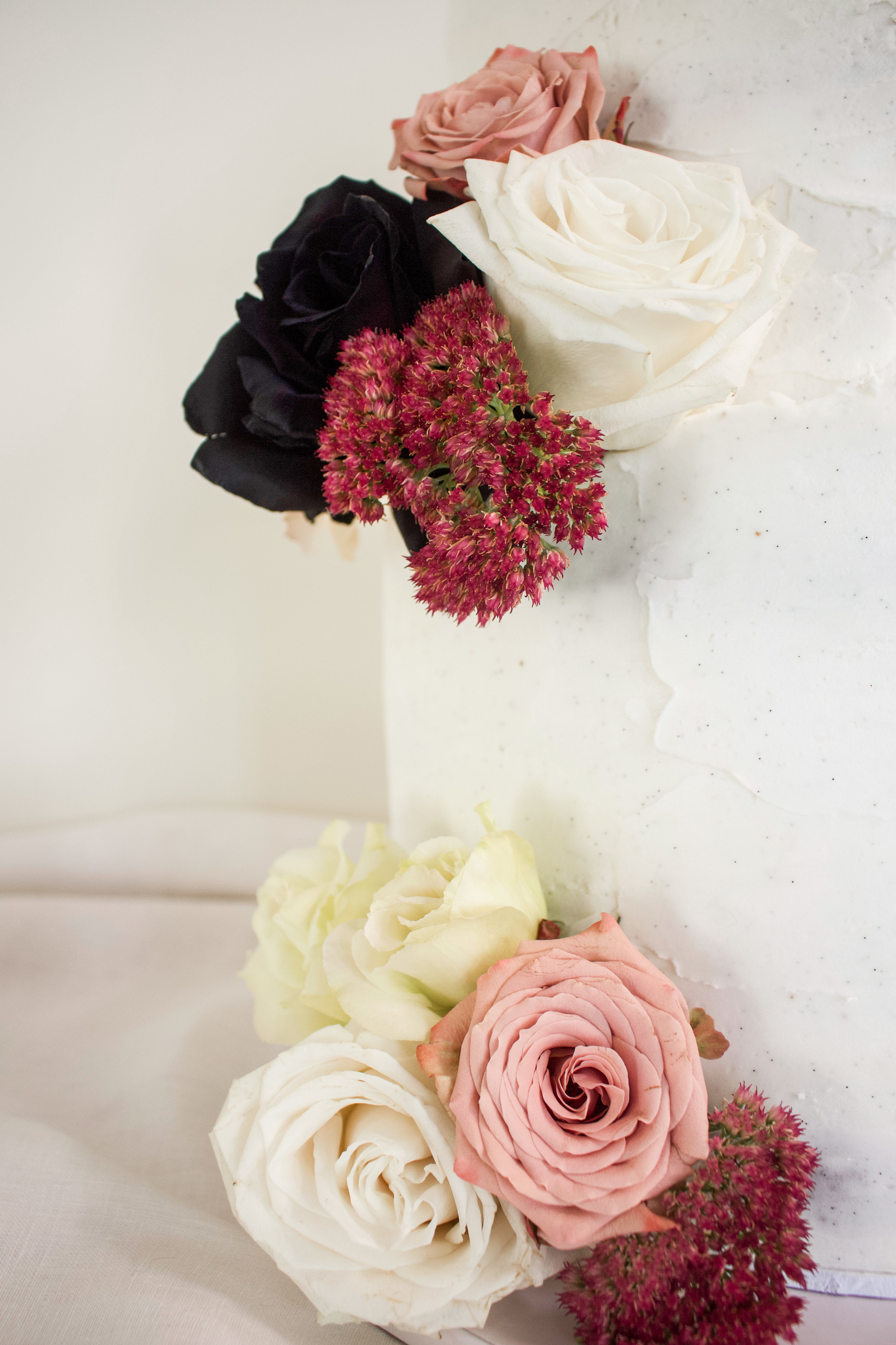 < wedding cake details >