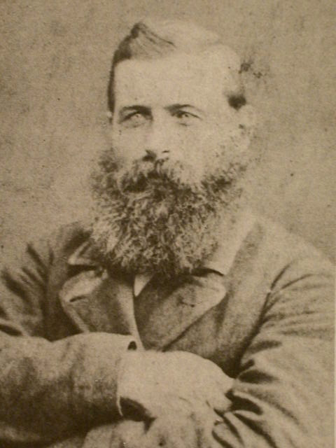 Captain Charles Tuckey aged about 30. Courtesy Gustave Rathe