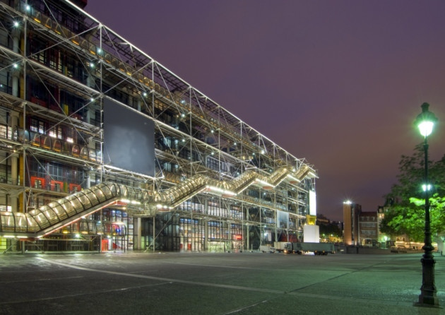 Centre Pompidou at night ©Dreamstime - Corepics Vof