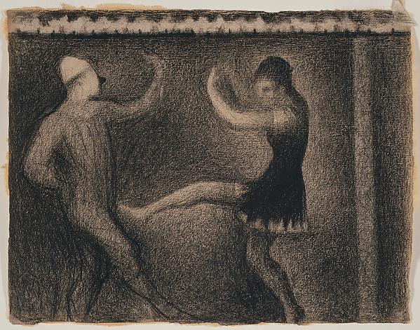 The Dancing Clown by Seurat