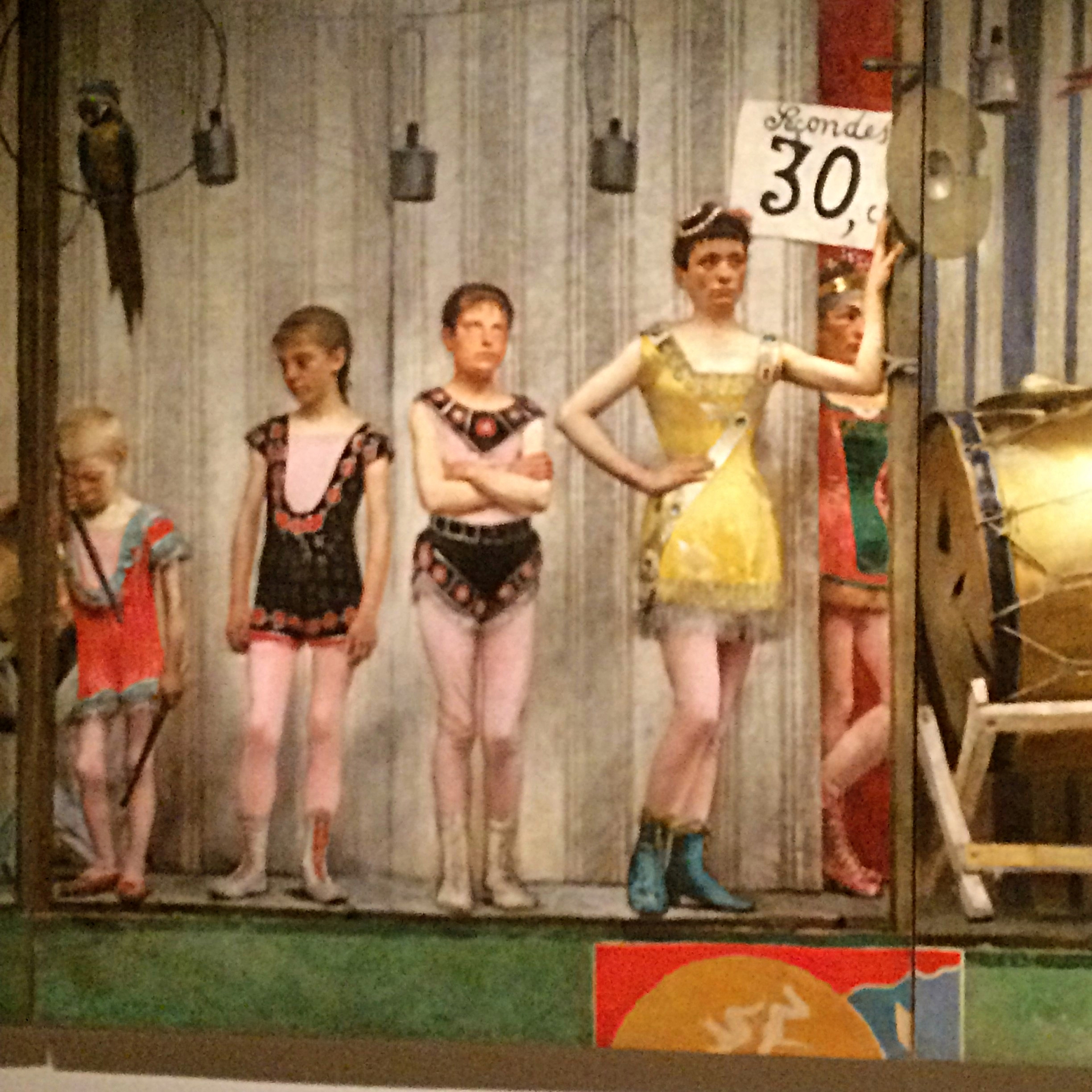 Underage and underpaid...the youngest members of a 'circus' family