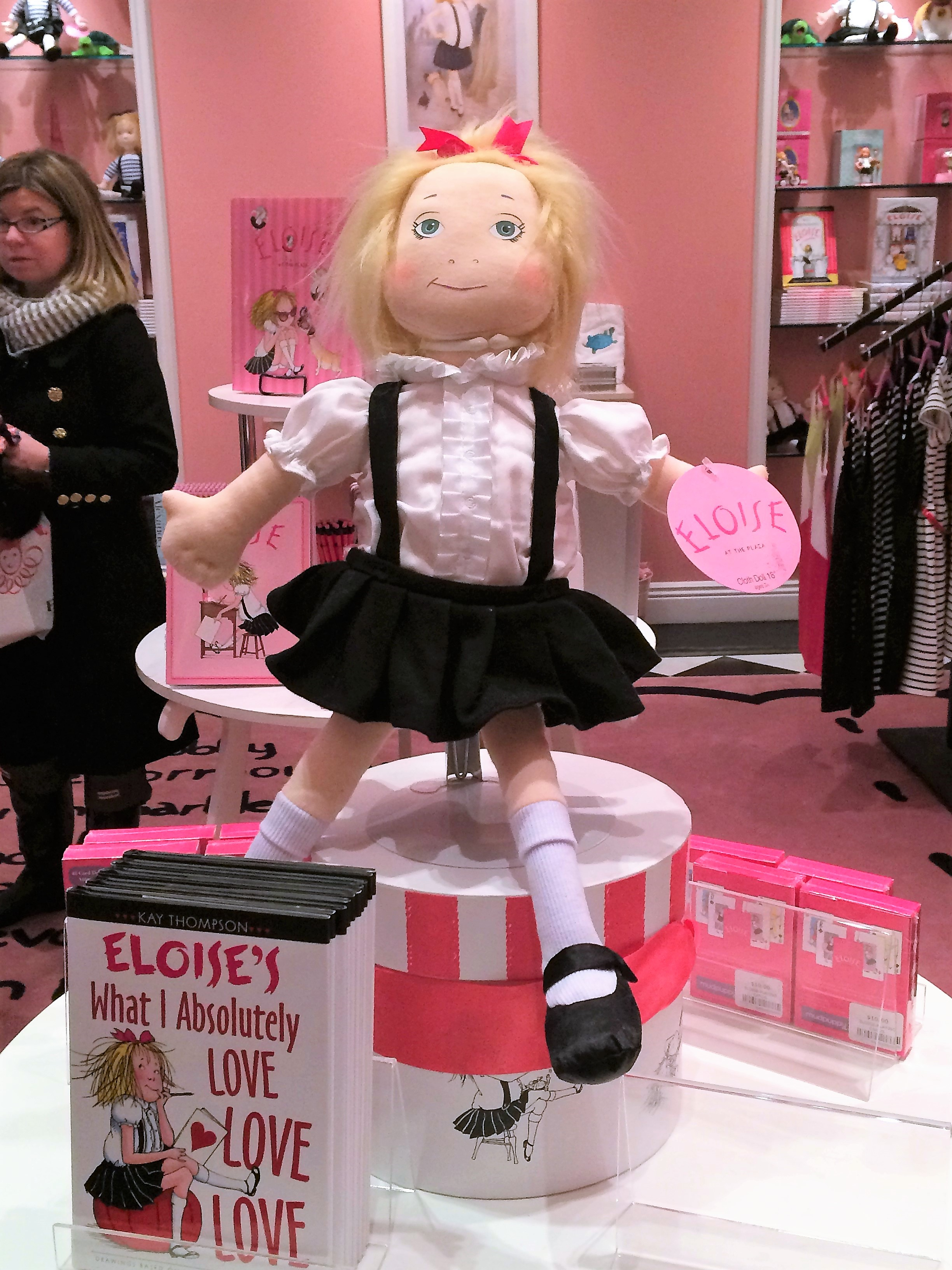 Eloise at the Plaza...