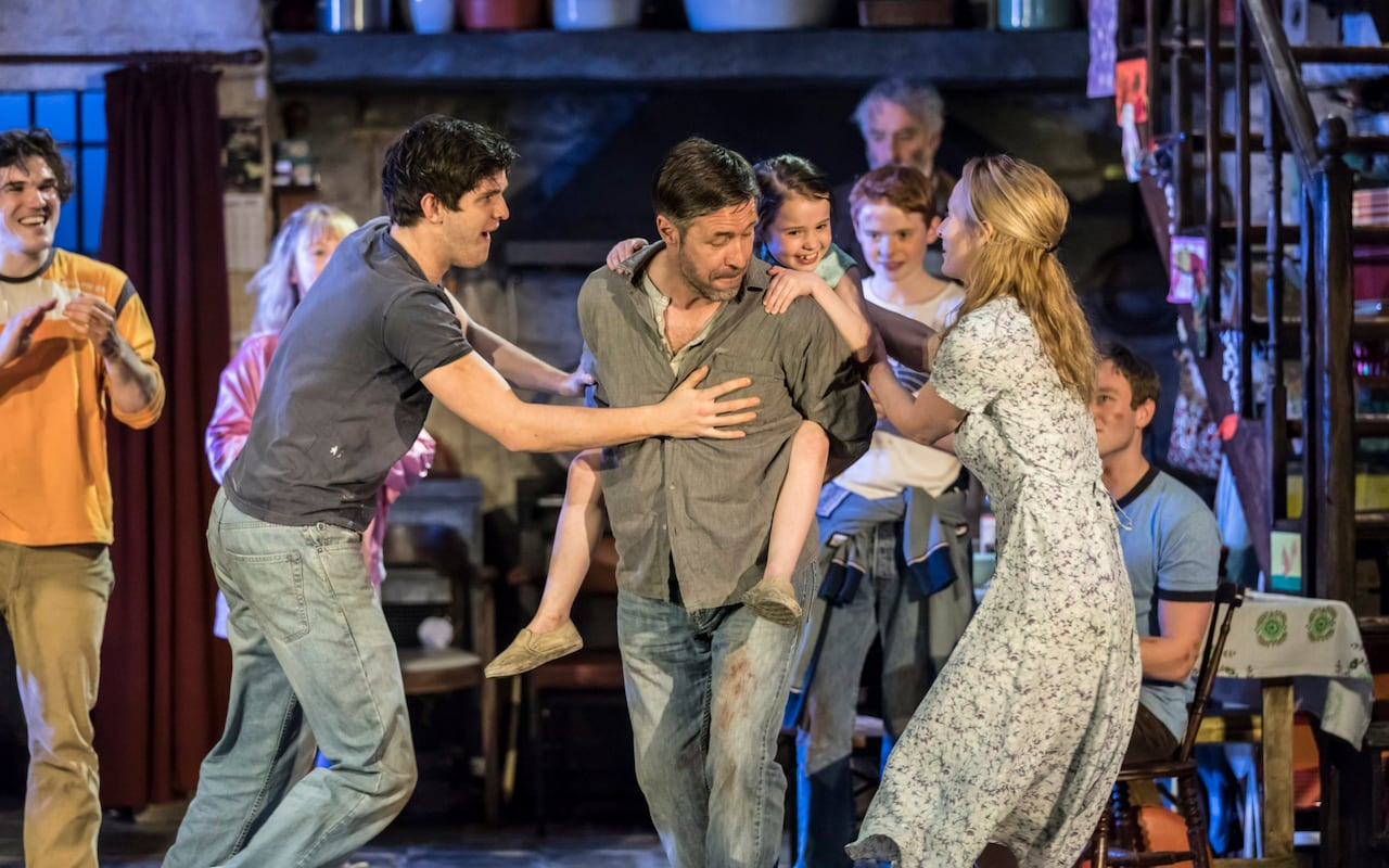 The Cast of the Ferrymen Credit: Johan Persson