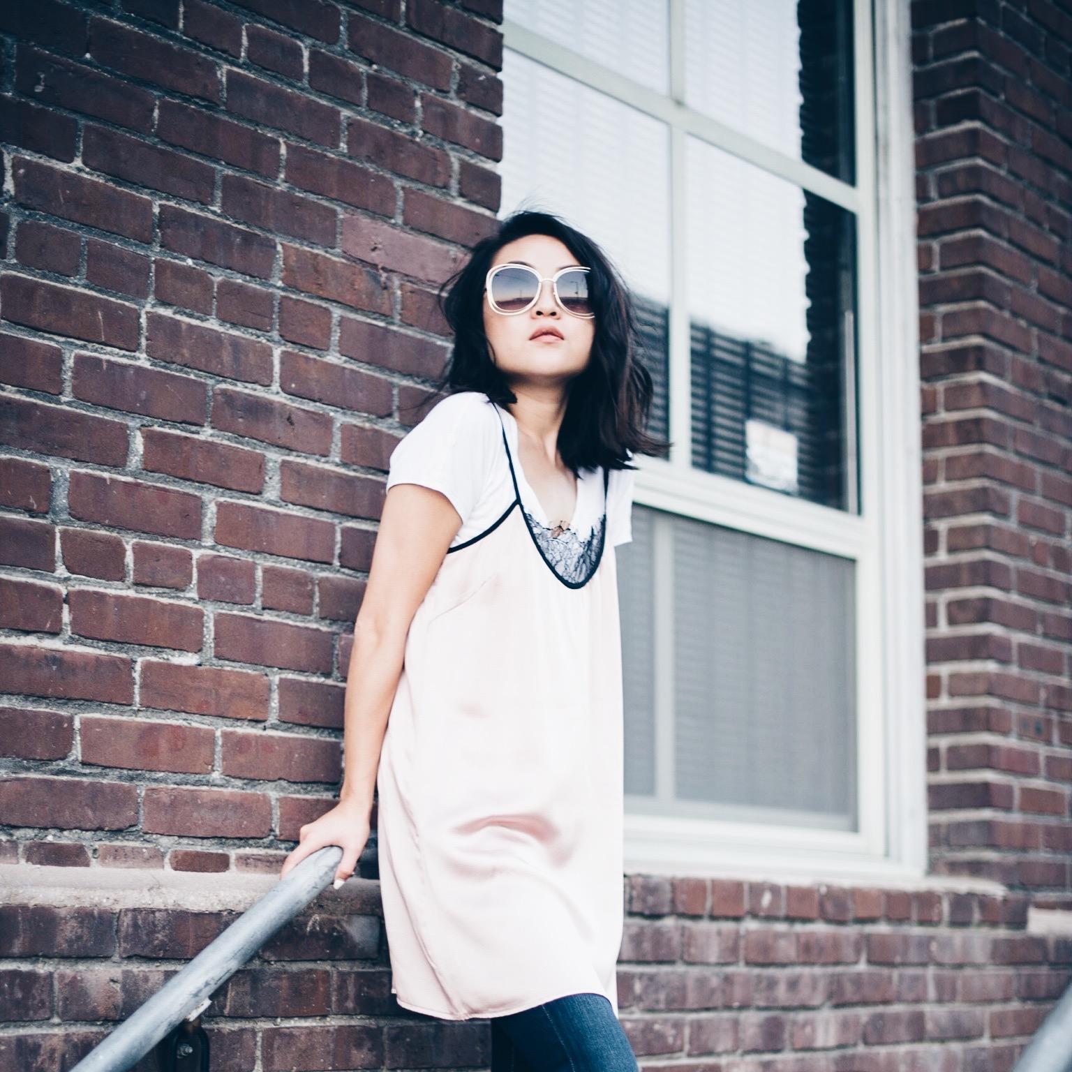 Louisa Silk Slip Dress
