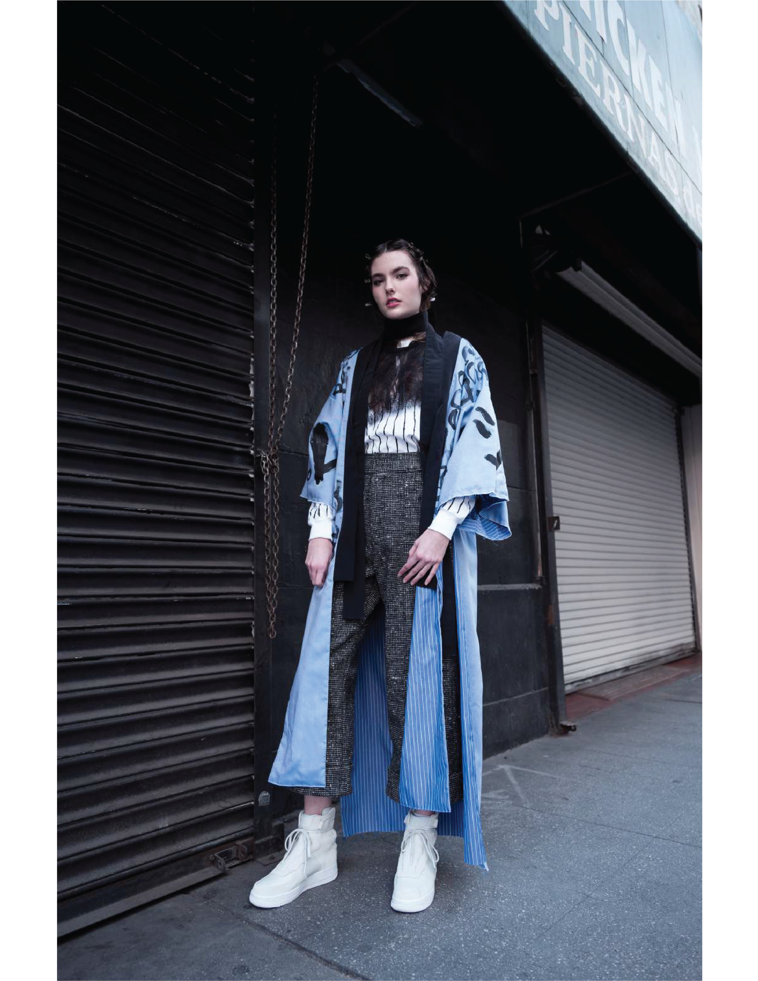PAPER MACHINE FW 18 LOOK BOOK. IMAGE 7