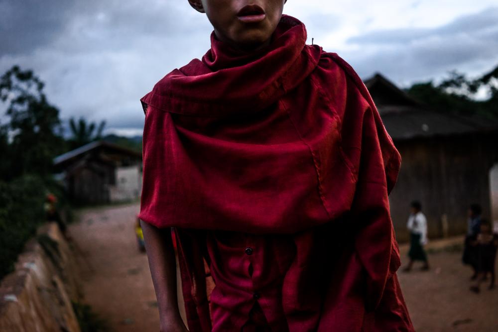 Young Burmese Monk, 2015
