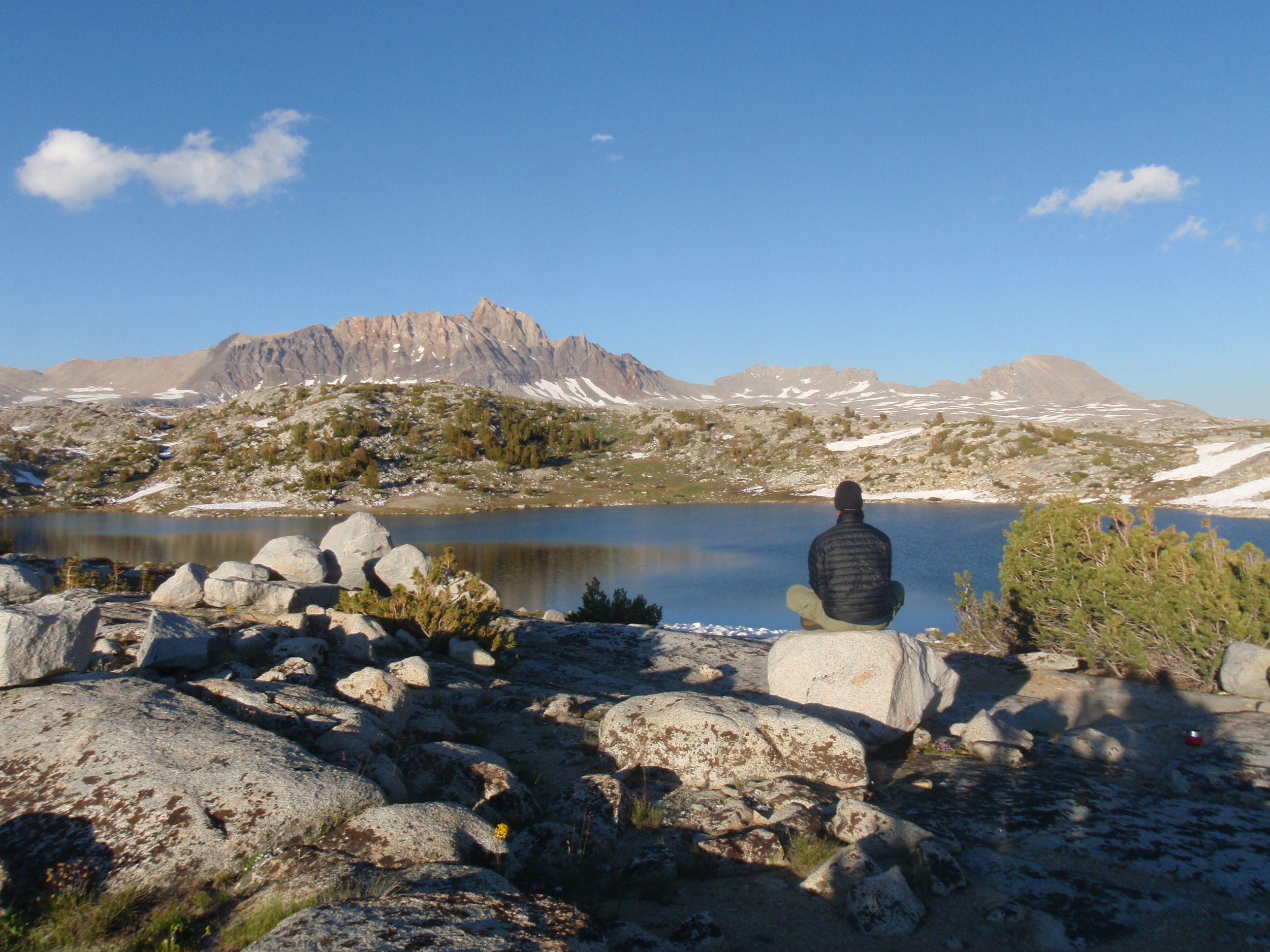 Mt Humphreys across Tomahawk Lake