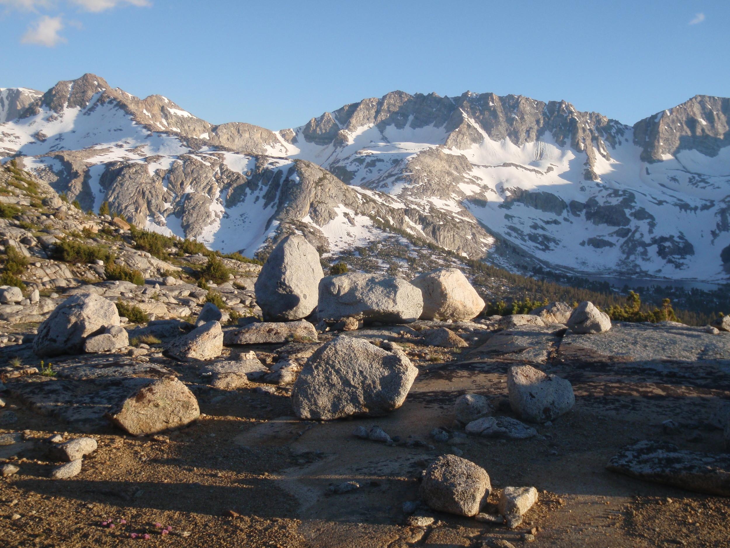 Glacier Divide from Humphreys Basin