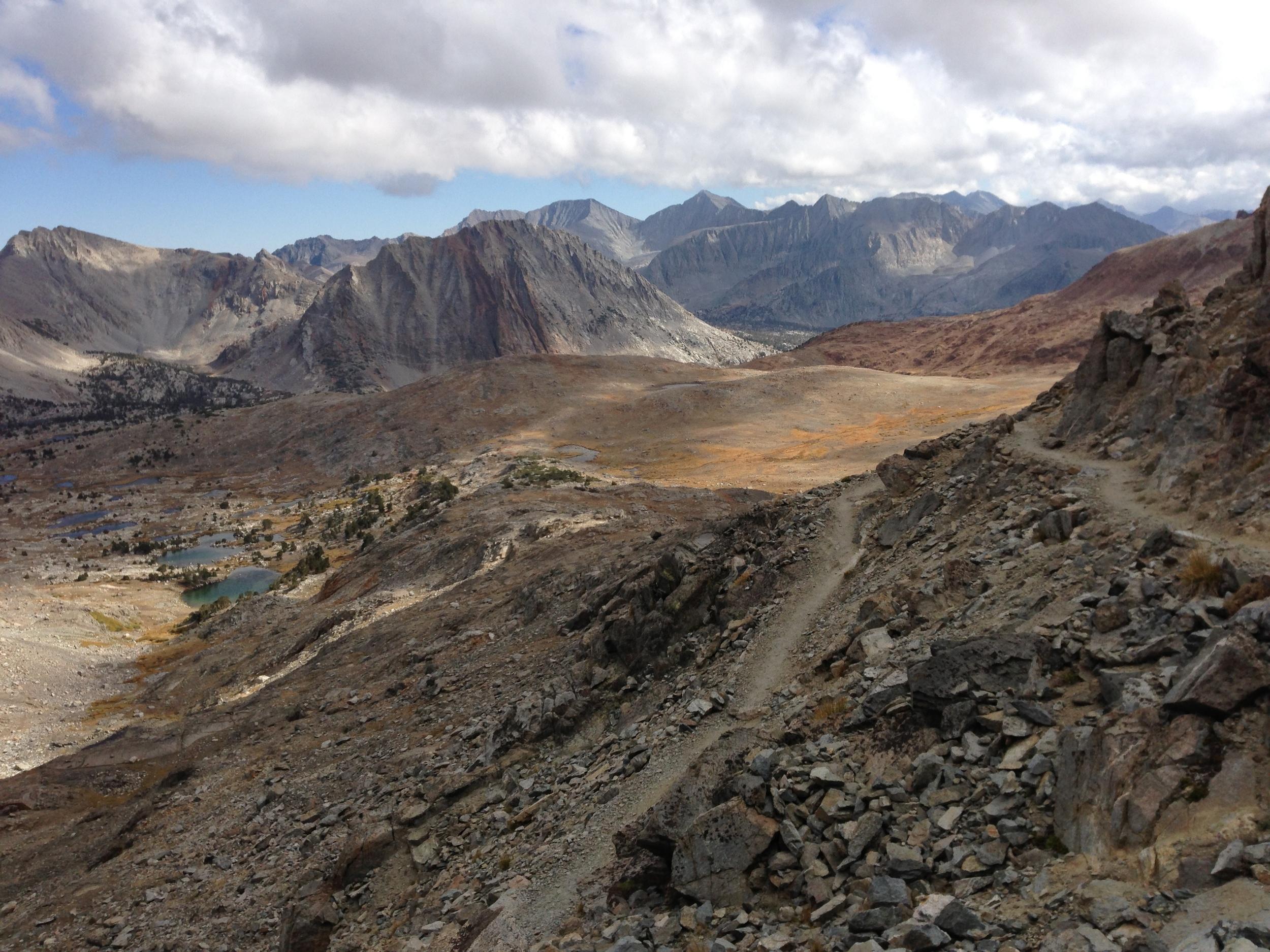 Pinchot Pass Mt Cedric Wright