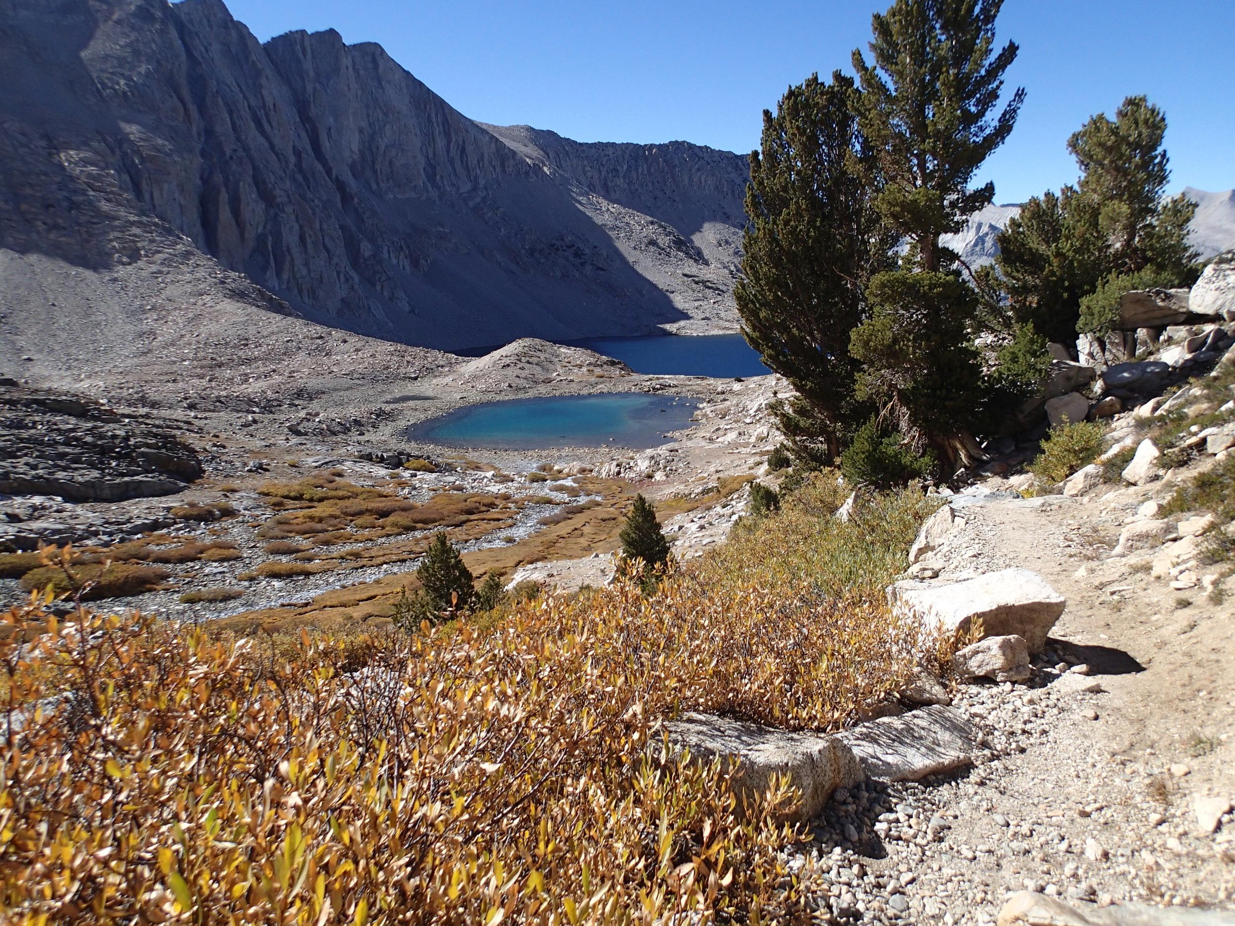 Twin Lakes Mt Cedric Wright