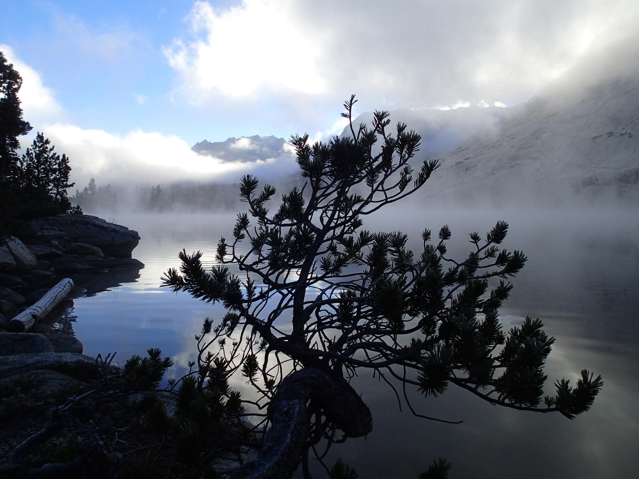 Steamfog on Bench Lake