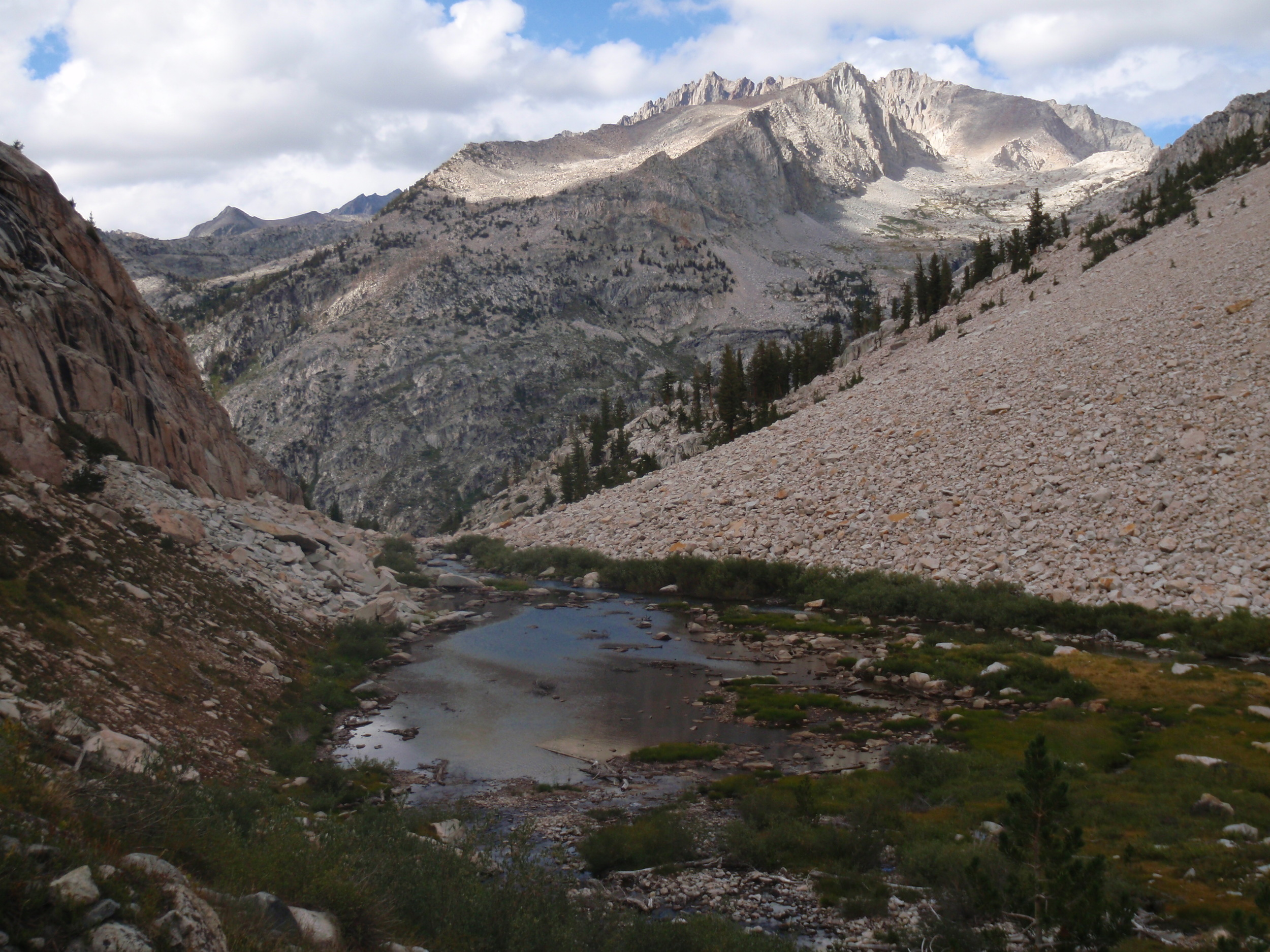 Palisades from upper Cataract Creek