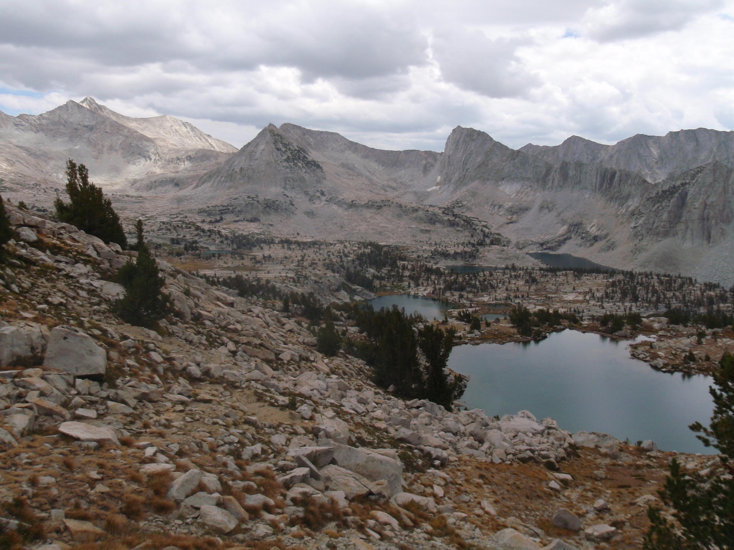 Lake Basin towards Cartridge Pass