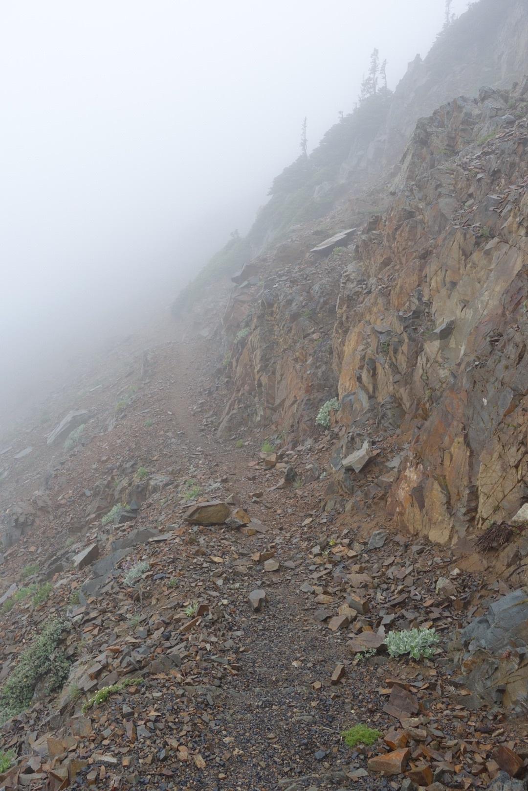 Our views around much of Tatie Peak