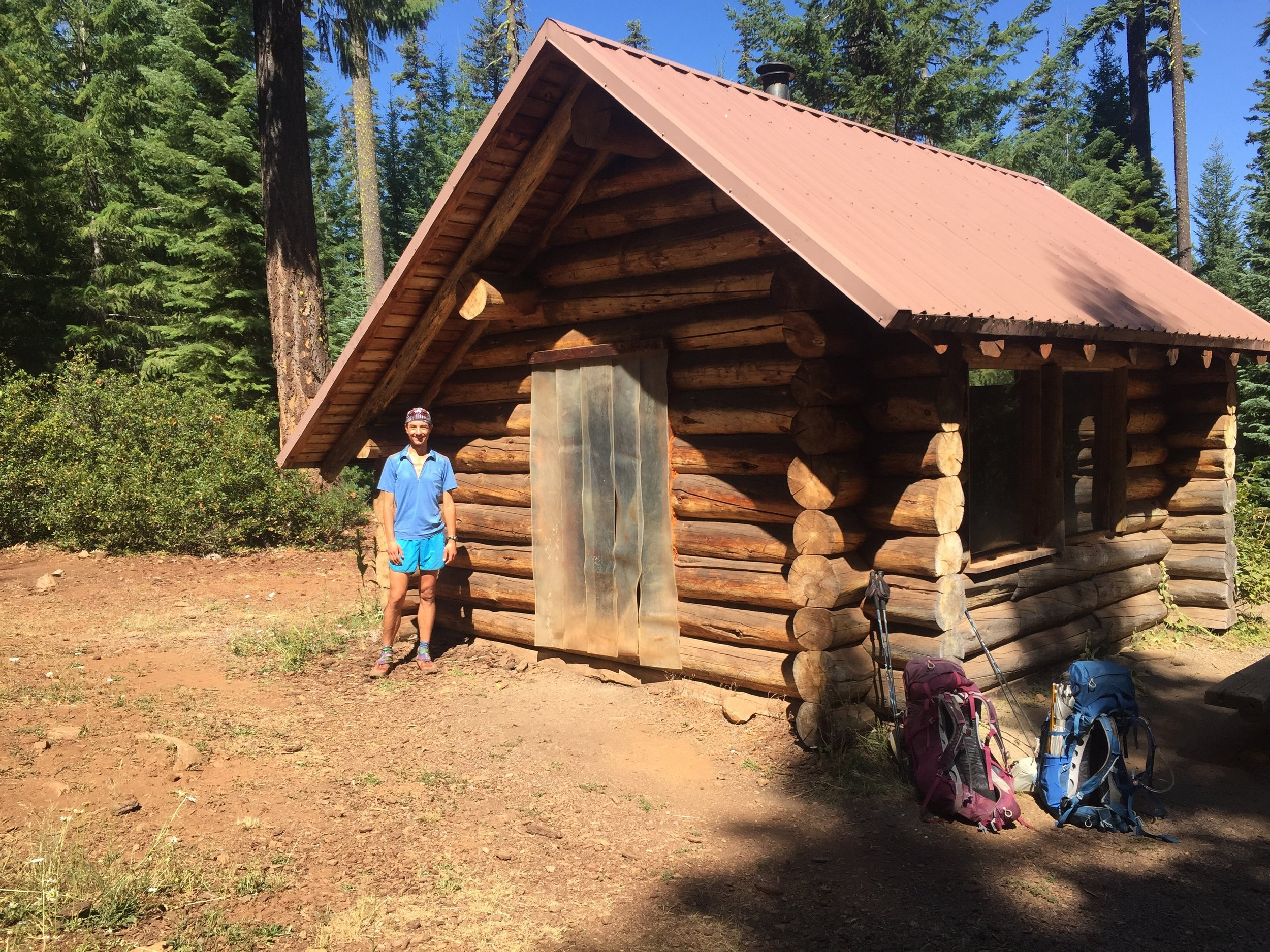 South Brown Mountain Shelter, an oasis of trail magic on Day 47
