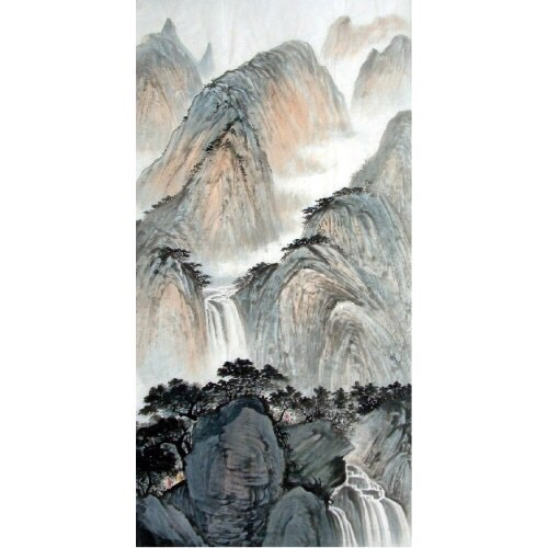 Next to the Waterfall copyright Pan Liang