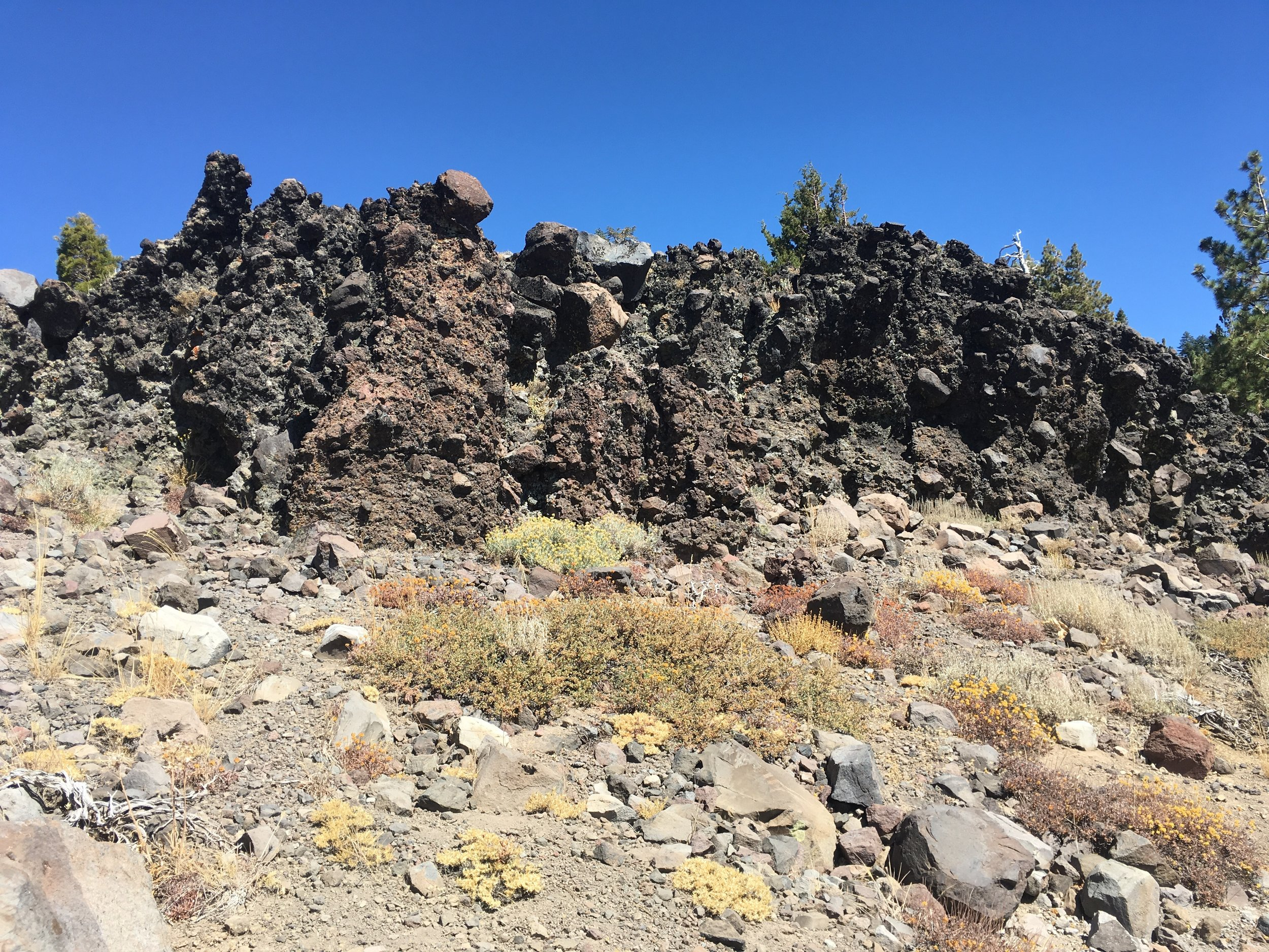These amazing rock outcroppings kept us riveted to the ridgelines.