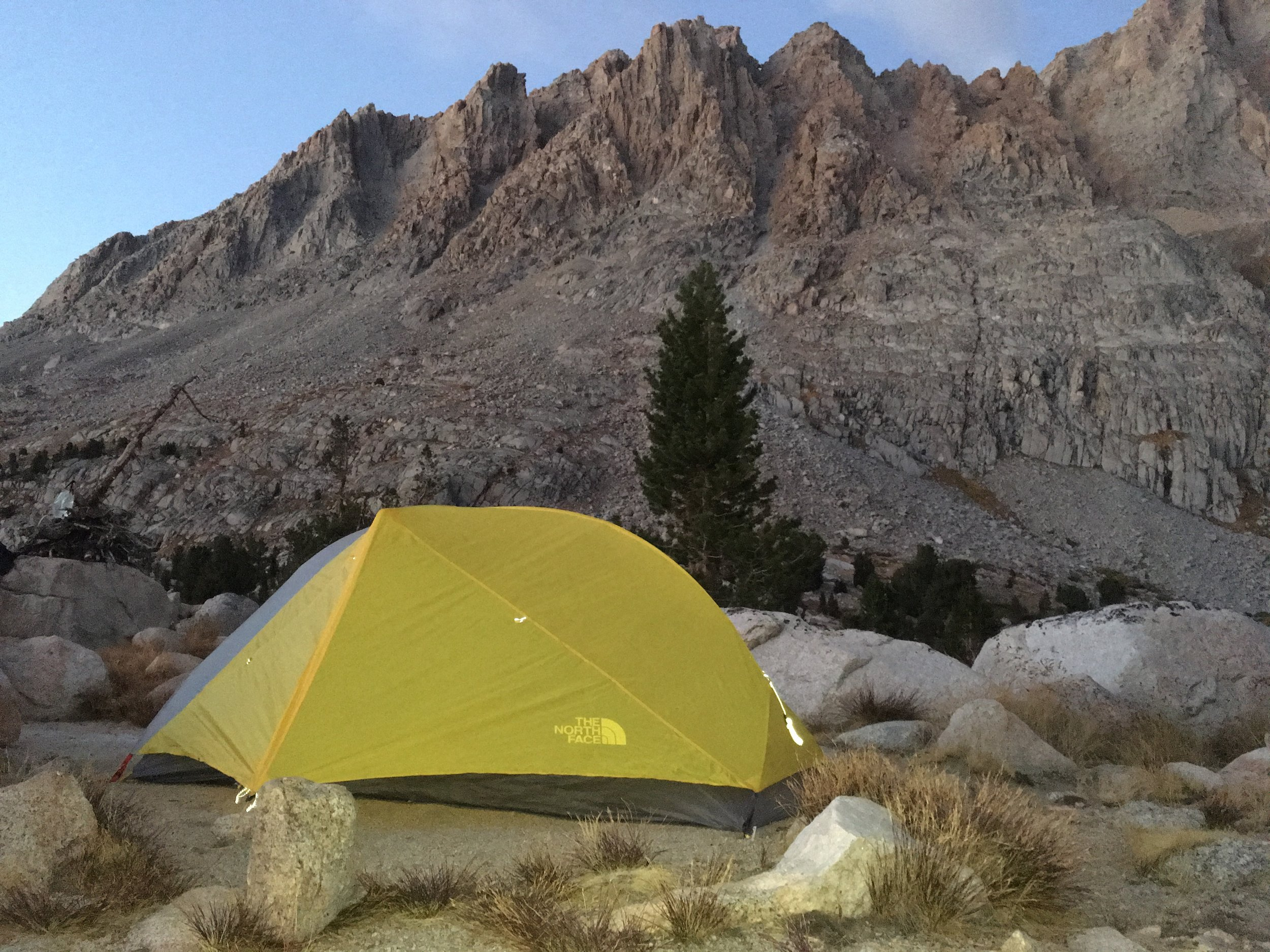 The new version of our trustworthy home for nearly the past 3 months. TNF Mica 2.