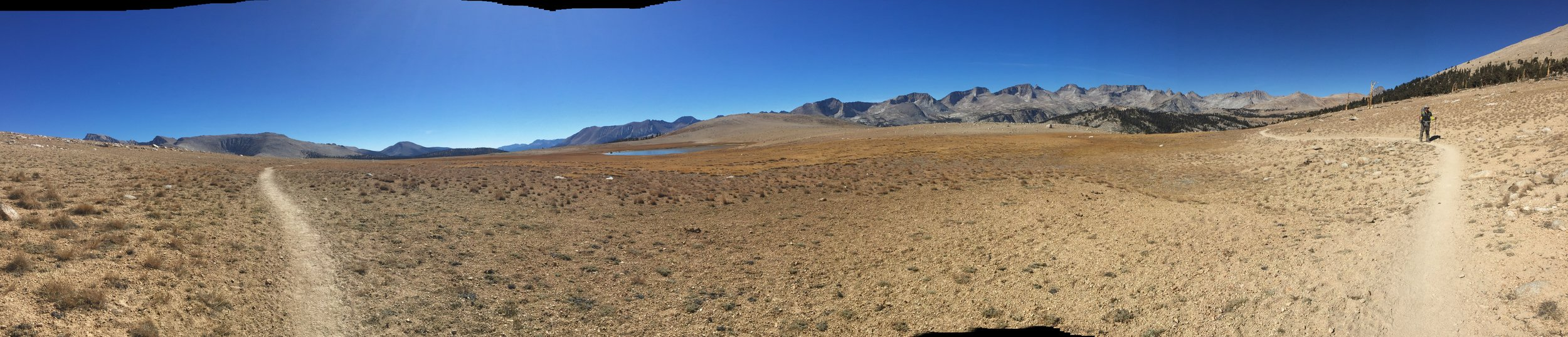 Bighorn Plateau with the Great Western Divide beyond