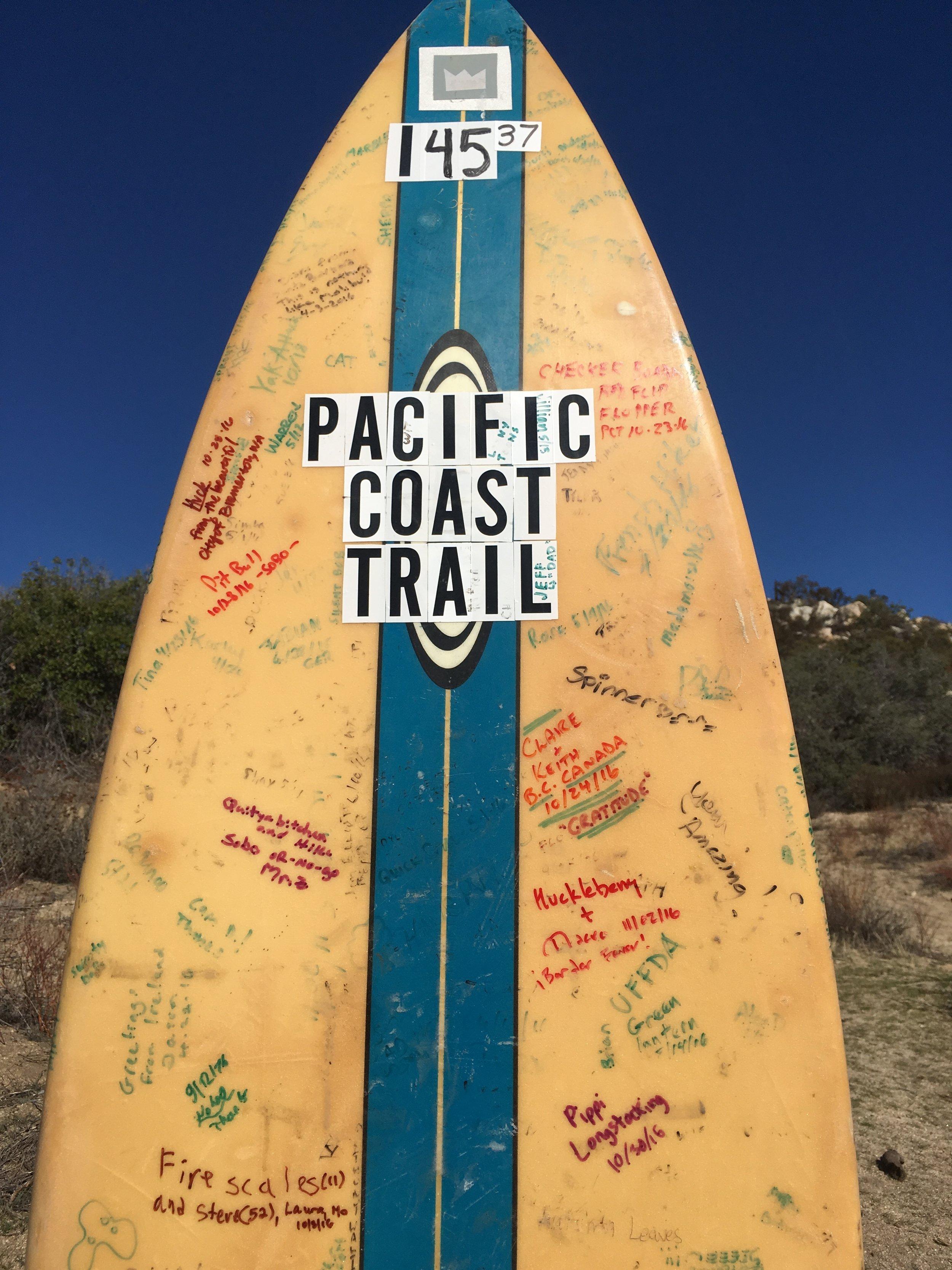 Huckleberry & Macro - ¡Border Fever! at Malibu East, or PCT Mile 145.37