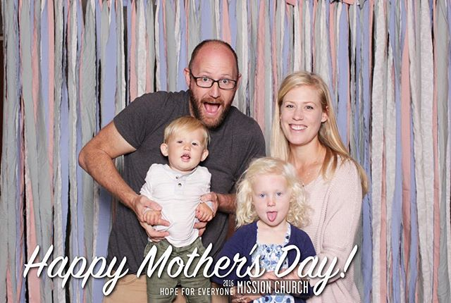 Happy belated Mother's Day from us to all the moms out there!