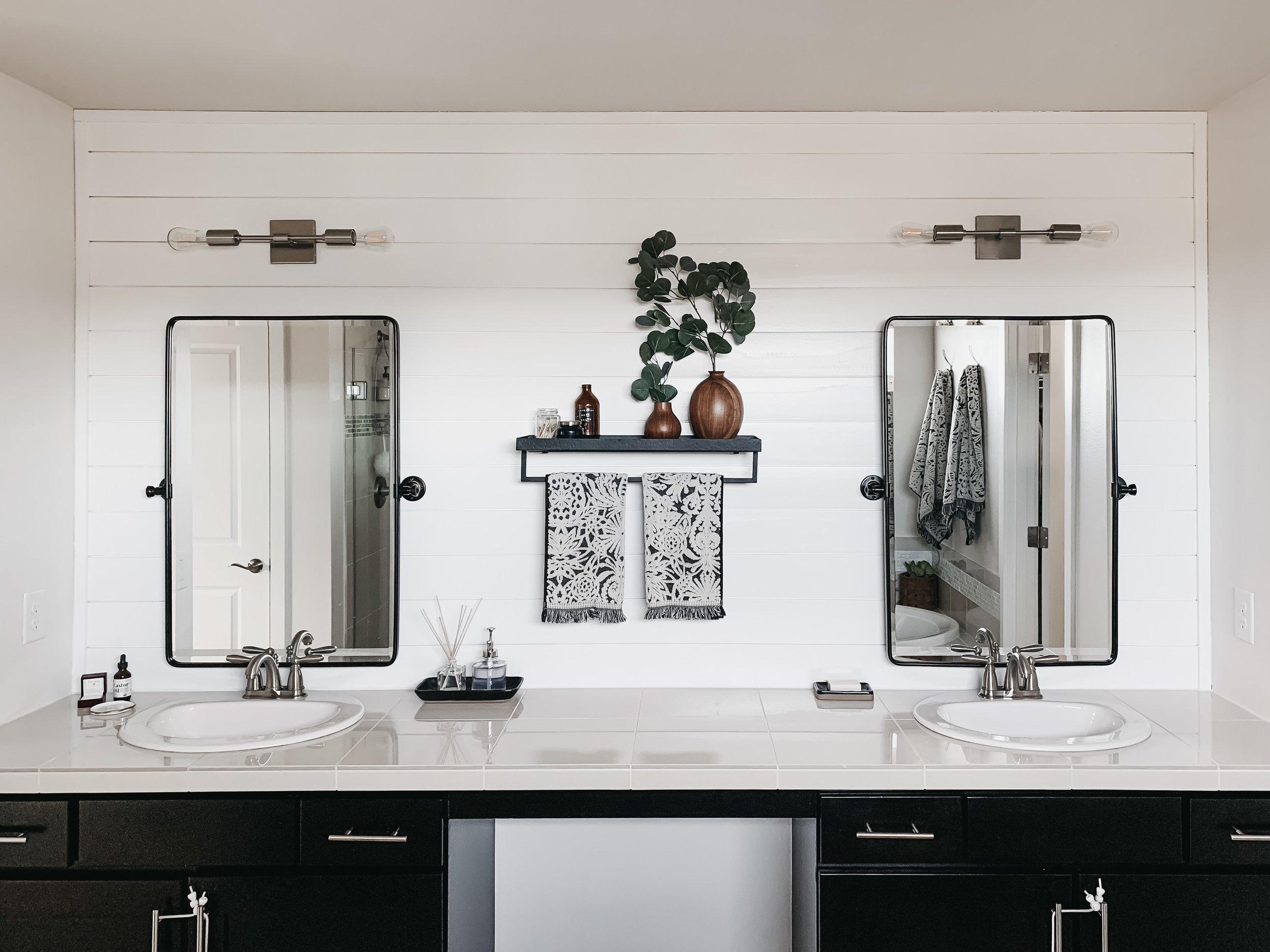 Owners Suite Bathroom Vanity Remodel