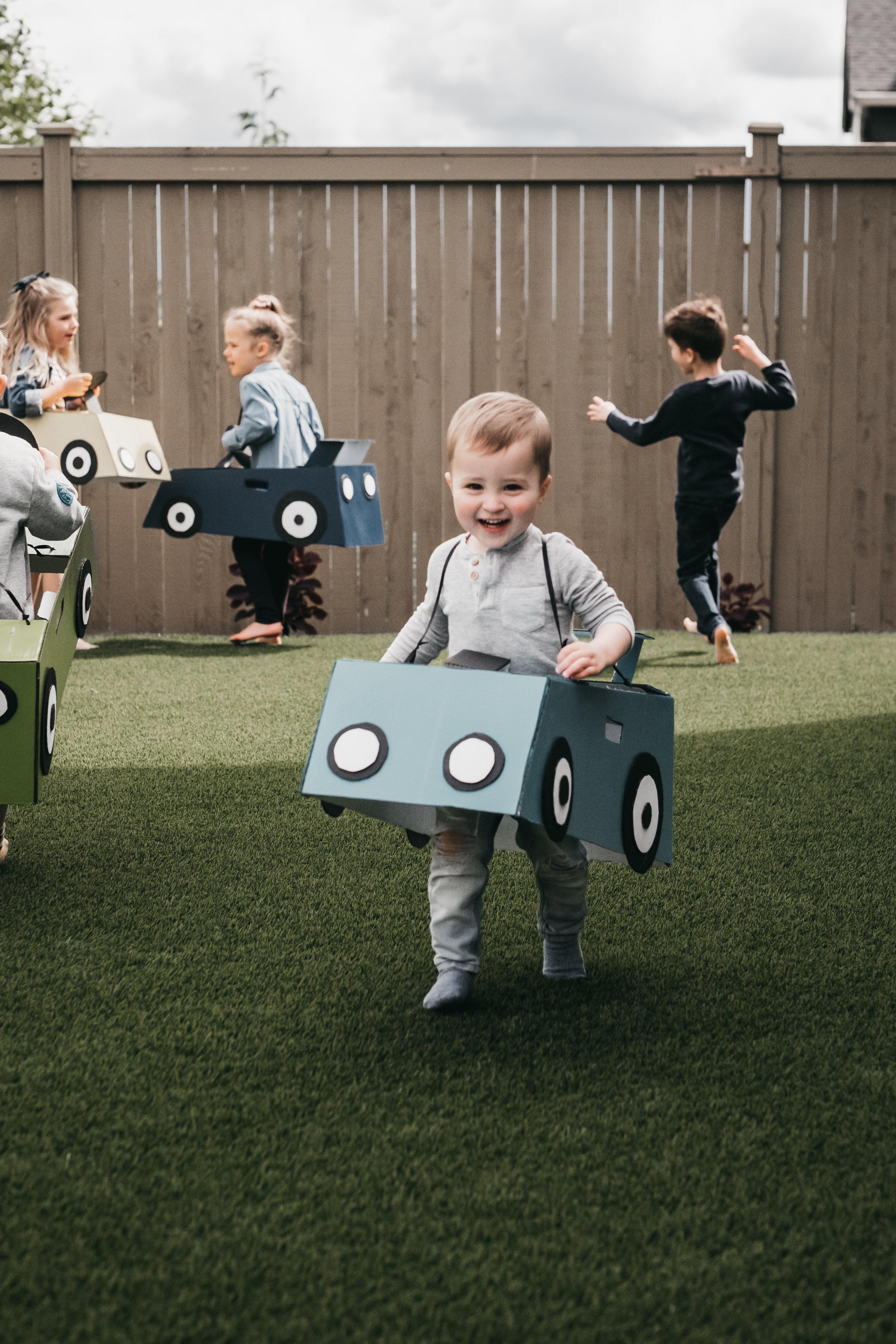 Derby Car Themed Birthday Party