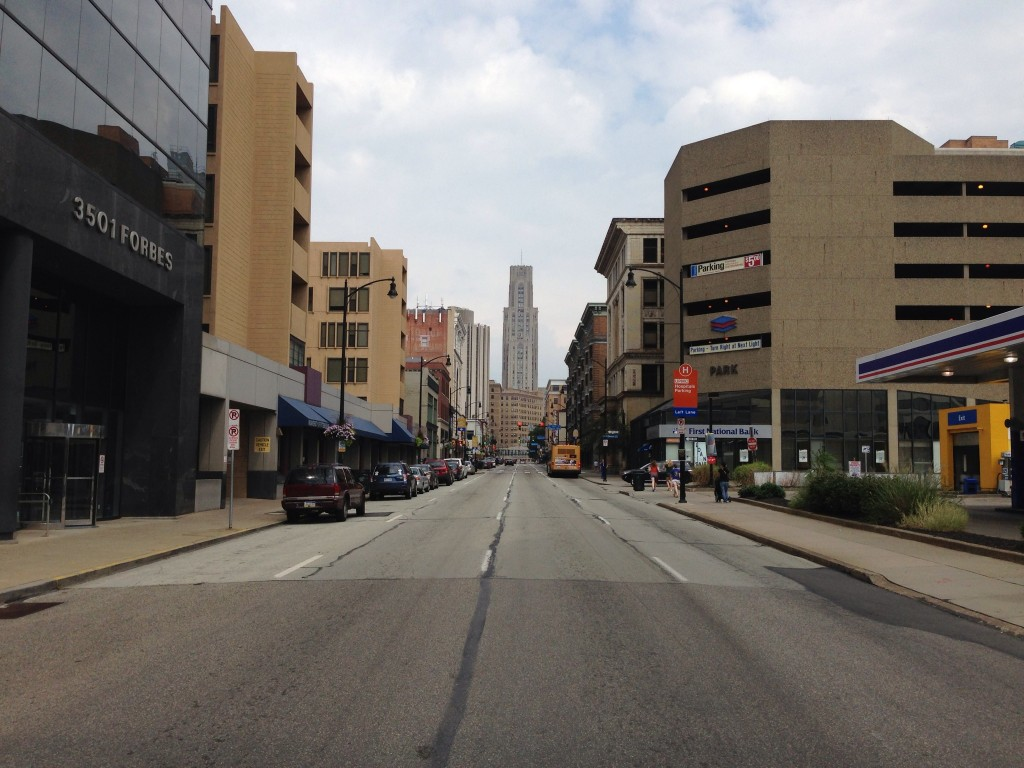 View Down Forbes Avenue