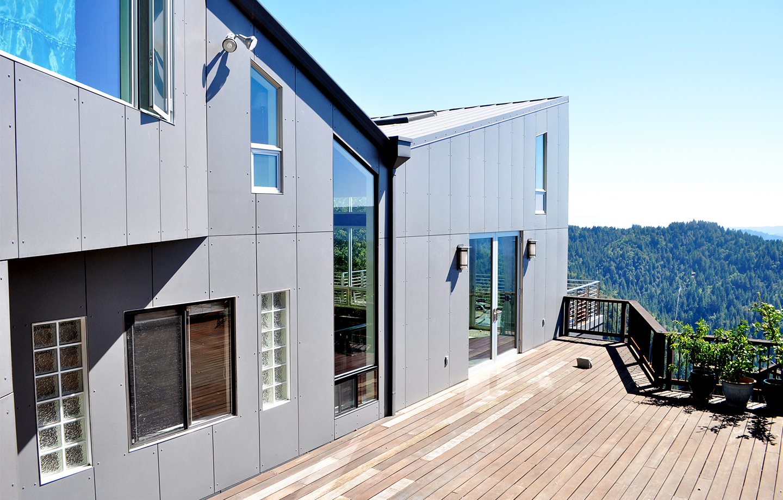 Favre Ridge Residence - Los Gatos, CA - Exterior Porch