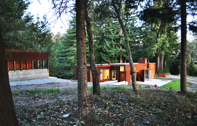 Fern Flat Residence - Aptos, CA - Exterior Grounds