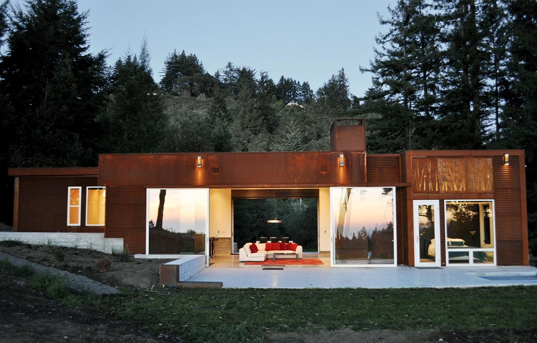 Fern Flat Residence - Aptos, CA - Exterior Doors