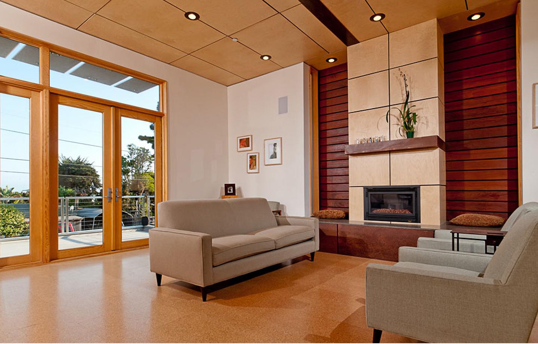 Moana Residence Interior - Living Room & Balcony