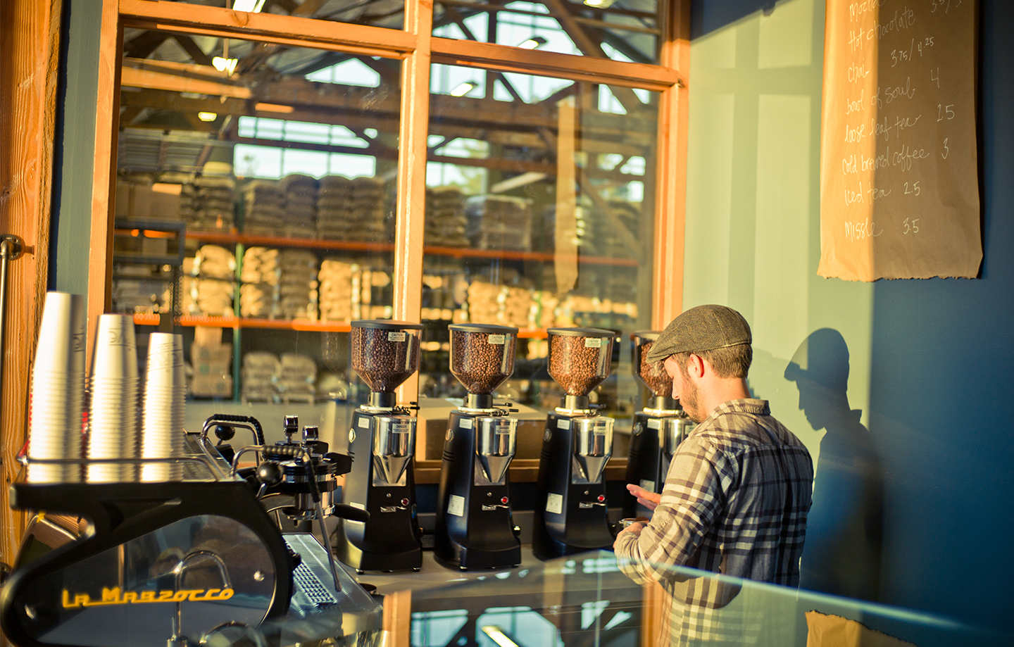 Verve Coffe Roasters Headquarters Barista