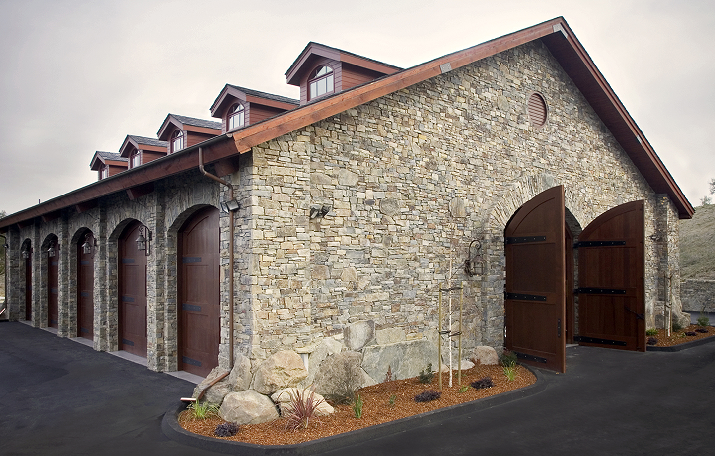 BRV Barn Stone Exterior