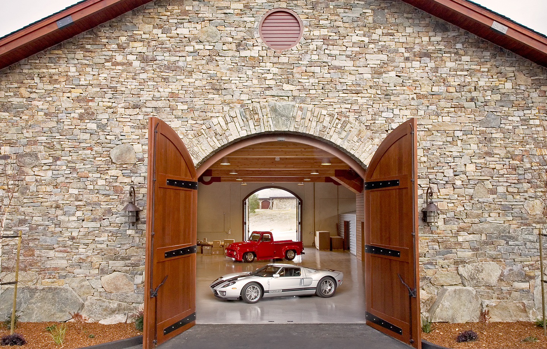 BRV Barn Car Showcase Room Entrance